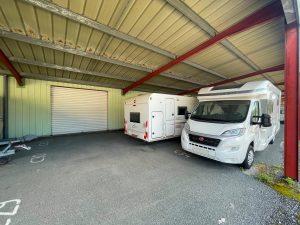 place de stationnement pour caravane à Messanges