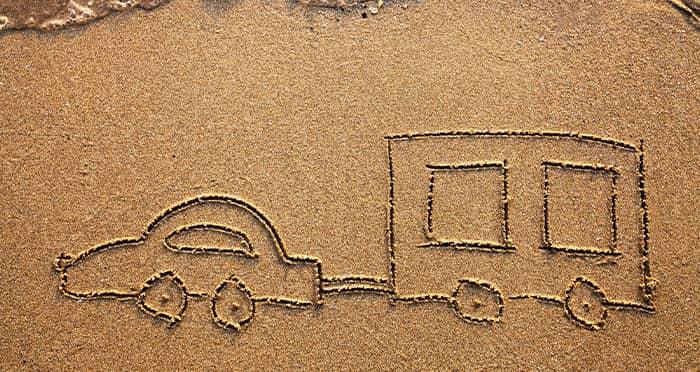 stationnement pour caravane dans les landes